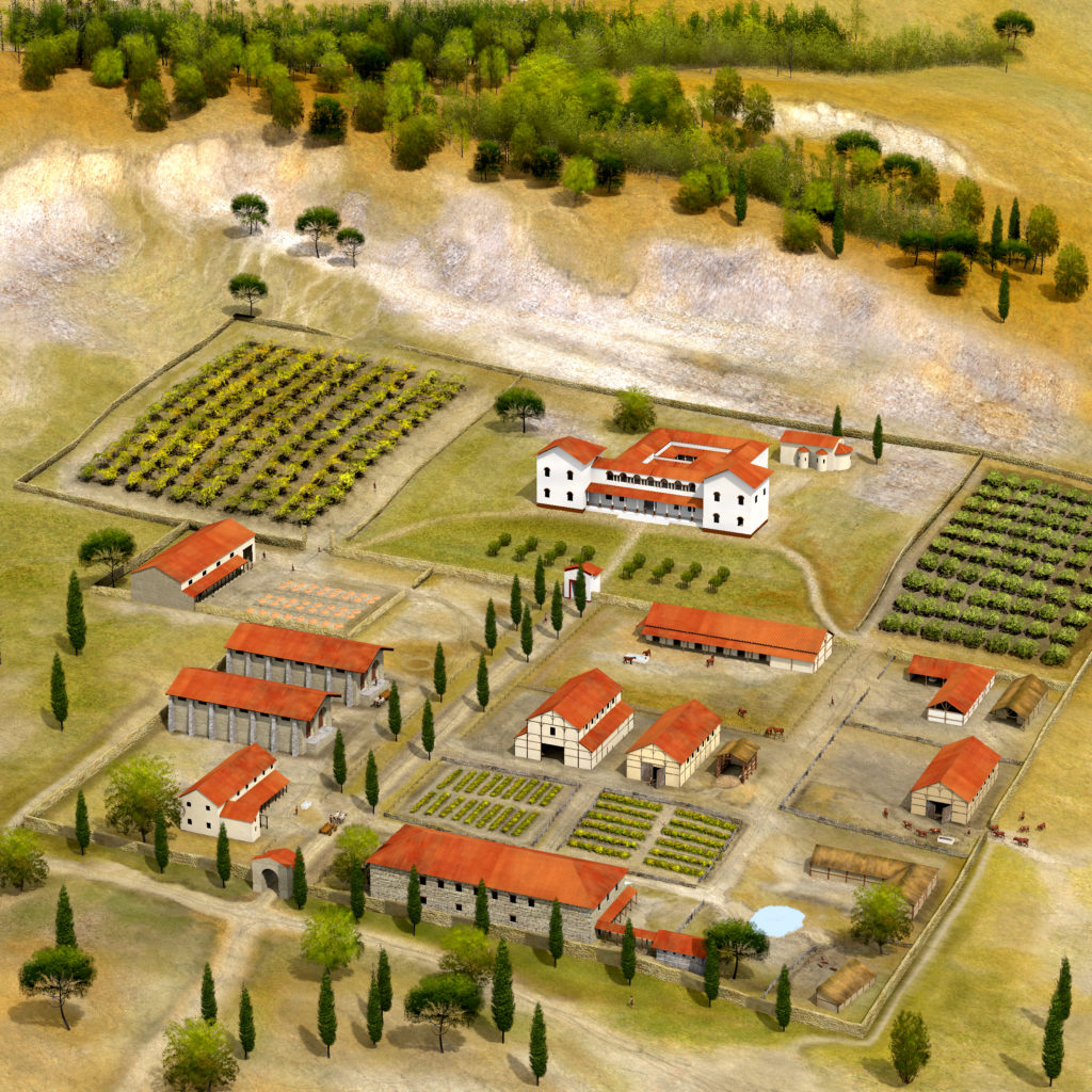 Prehistory antiquity paul becx archeologisch for Villas rusticas